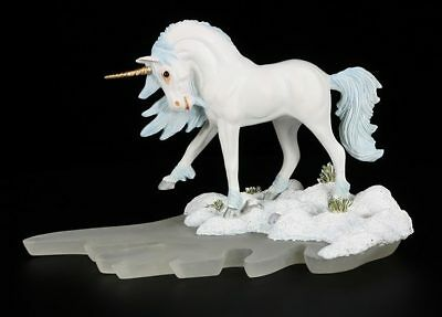 Einhorn Figur - Ice Winter Walk by Andrew Hull limitiert - Dragonsite