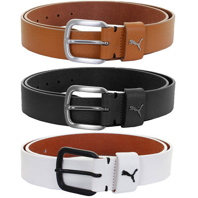 Puma Golf 2016 Mens Go To CTL Cut To Length Leather Golf Belt 053004