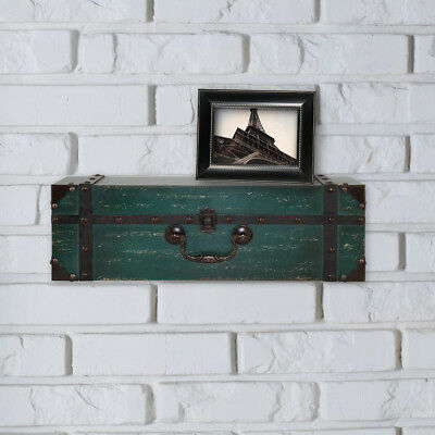 MCS Industries Vintage Suitcase Wall Shelf