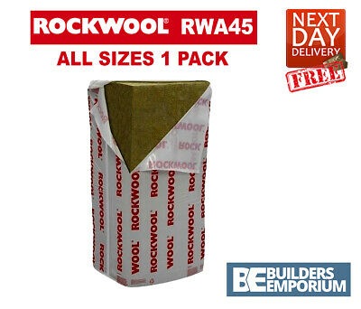 ROCKWOOL RWA45 Acoustic Sound Insulation 50, 75 and 100mm X 1