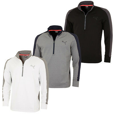 Puma Golf 2016 Mens PwrWarm 1/4 Zip Popover Sweater Pullover Top 569100