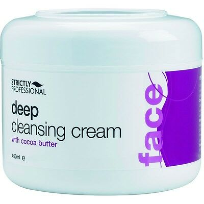 Strictly Professional Deep Cleanser Cleansing Cream All Skin Types 450ml SPB0570