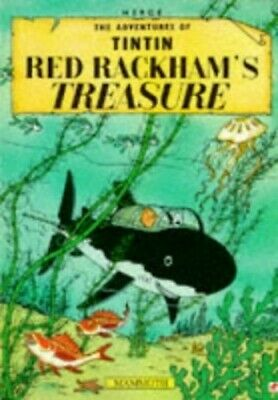 Red Rackham's Treasure (The Adventures of Tintin) by Herge Paperback Book The