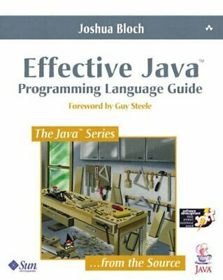 Effective Java (TM) Programming Language Guide by Bloch, Joshua Paperback Book