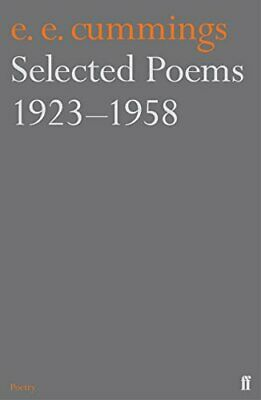 Selected Poems 1923-1958 by Cummings, E.E. Paperback Book The Cheap Fast Free