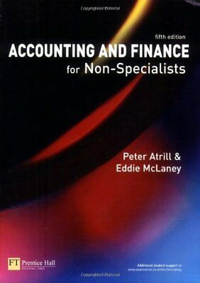 Accounting and Finance for Non-Specialists, McLaney, Eddie Paperback Book
