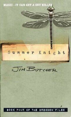 Summer Knight: The Dresden Files, Book Four by Butcher, Jim Paperback Book The