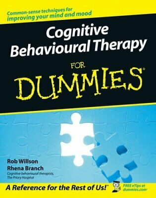 Cognitive Behavioural Therapy For Dummies by Rhena Branch Paperback Book The