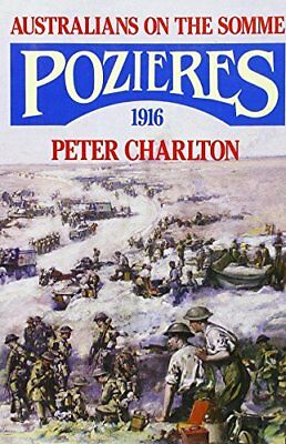 Pozieres, Charlton, Peter Hardback Book The Cheap Fast Free Post
