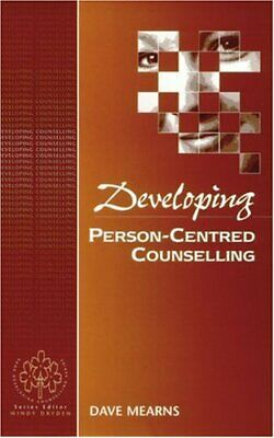 Developing Person-Centred Counselling (Developing C... by Mearns, Dave Paperback