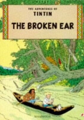 The Broken Ear (The Adventures of Tintin) by Herge Paperback Book The Cheap Fast