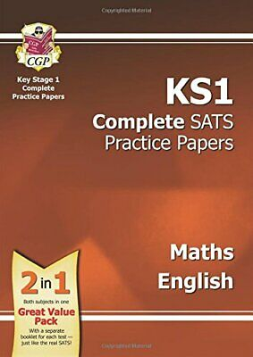 KS1 Maths & English SATS Practice Papers Pack (for the... by CGP Books Paperback