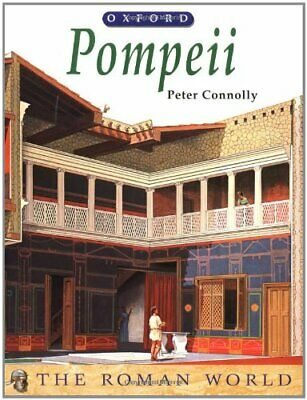 Pompeii (The Roman World) by Connolly, Peter Paperback Book The Cheap Fast Free