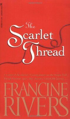 Scarlet Thread by Rivers, Francine Paperback Book The Cheap Fast Free Post