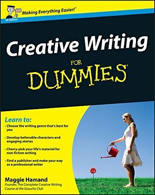 Creative Writing For Dummies by Hamand, Maggie Paperback Book The Cheap Fast