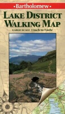 Lake District (Walking Map) by Gregor, Juliet Sheet map, folded Book The Cheap