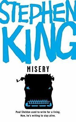 Misery by King, Stephen Paperback Book The Cheap Fast Free Post