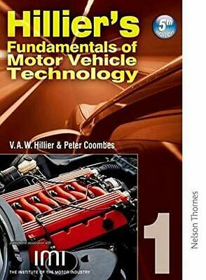 Hilliers Fundamentals of Motor Vehicle Technology... by Coombes, Peter Paperback