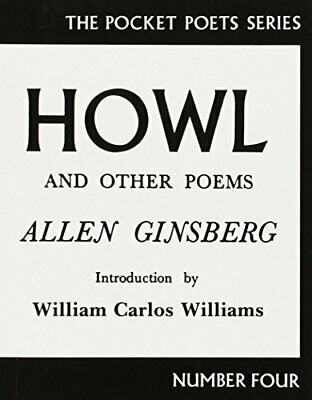 Howl and Other Poems (City Lights Pocket Poets S... by Ginsberg, Allen Paperback