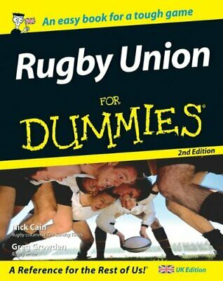 Rugby Union For Dummies, Second Edition (UK Version) by Growden, Greg Paperback