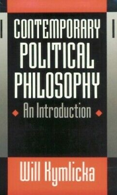 Contemporary Political Philosophy: An Introduction by Kymlicka, Will Paperback