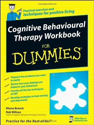 Cognitive Behavioural Therapy Workbook for Dummies by Willson, Rob Paperback The