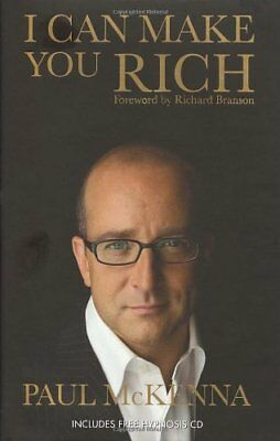 I Can Make You Rich (Book and CD), McKenna, Paul Hardback Book The Cheap Fast
