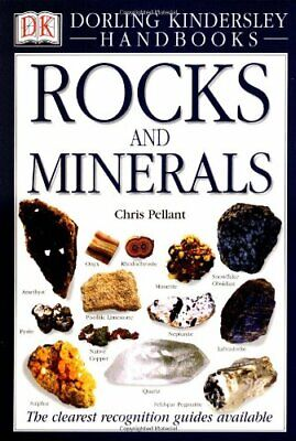 Rocks and Minerals (DK Handbooks) by Pellant, Chris Hardback Book The Cheap Fast