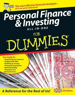 Personal Finance and Investing All-in-One For Dummies Paperback Book The Cheap