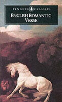 English Romantic Verse (Poets) by Wright, David Paperback Book The Cheap Fast