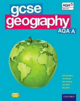 GCSE Geography AQA A Student Book (Gcse Aqa a) by Meg Gillett Paperback Book The