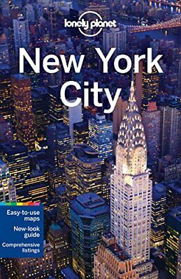 Lonely Planet New York City (Travel Guide) by Miranda, Carolina A Book The Cheap