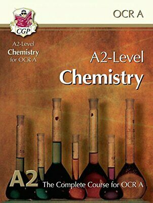A2-Level Chemistry for OCR A: Student Book by CGP Books Book The Cheap Fast Free
