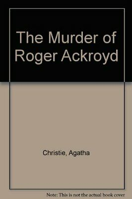 The Murder of Roger Ackroyd by Christie, Agatha Paperback Book The Cheap Fast
