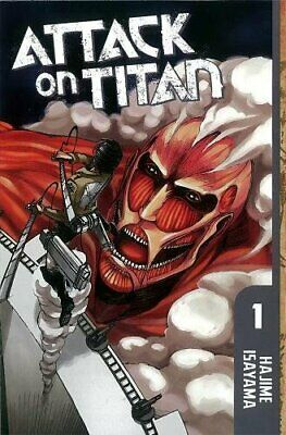 Attack On Titan 1, Hajime Isayama Book The Cheap Fast Free Post