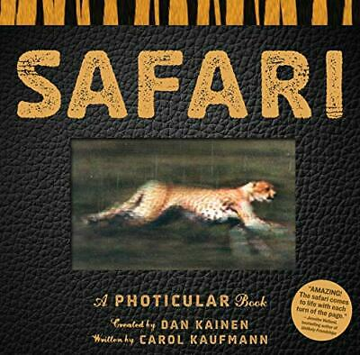 Safari: A Photicular Book by Dan Kainen Book The Cheap Fast Free Post