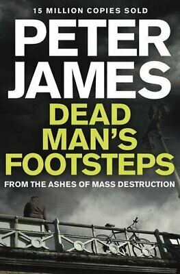 Dead Man's Footsteps (Roy Grace) by James, Peter Book The Cheap Fast Free Post