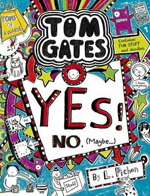 Yes! No (Maybe...) (Tom Gates) by Liz Pichon Book The Cheap Fast Free Post