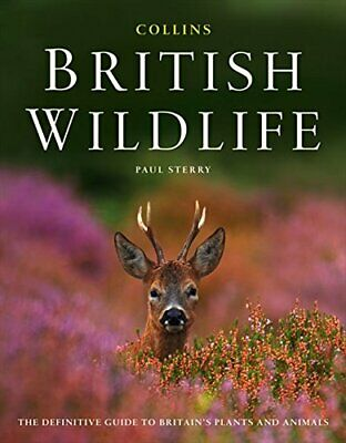 Collins British Wildlife by Sterry, Paul Hardback Book The Cheap Fast Free Post