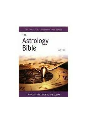 Astrology Bible by Hall, Judy H. Book The Cheap Fast Free Post