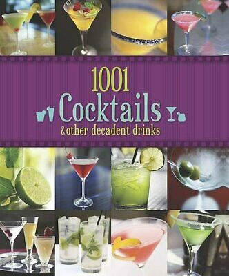1001 Cocktails Book The Cheap Fast Free Post