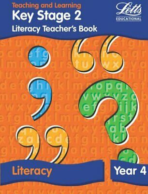 KS2 Literacy Teacher's Book: Year 4 (Letts Primary Activit... by Fidge Paperback