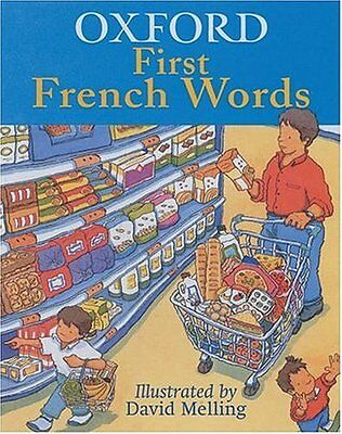 Oxford First French Words, Hachette Children's Books Paperback Book The Cheap