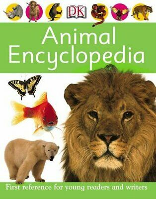 Animal Encyclopedia Hardback Book The Cheap Fast Free Post