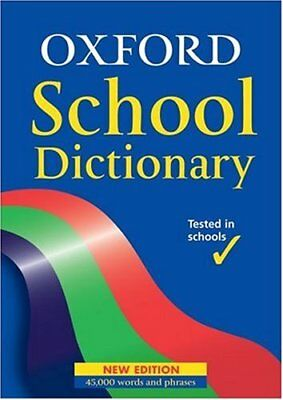 OXFORD SCHOOL DICTIONARY, Hachette Children's Books Hardback Book The Cheap Fast