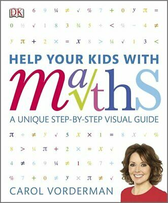Help Your Kids With Maths by Vorderman, Carol Hardback Book The Cheap Fast Free