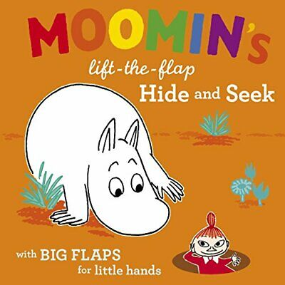 Moomin's Lift-the-flap Hide and Seek, Jansson, Tove Paperback Book The Cheap