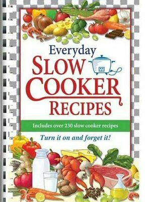 Everyday Slow Cooker Recipes Paperback Book The Cheap Fast Free Post