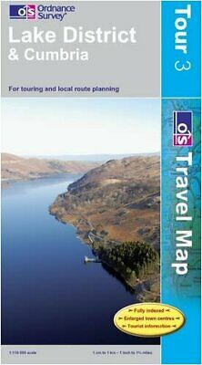Lake District (OS Travel Map - Tour Map) by Ordnance Survey Sheet map, folded