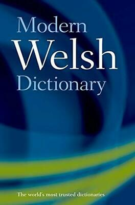 Modern Welsh Dictionary: A guide to the living language Paperback Book The Cheap